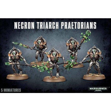 Games Workshop Warhammer 40,000 Xenos Necrons: Triarch Lychguard/Praetorians