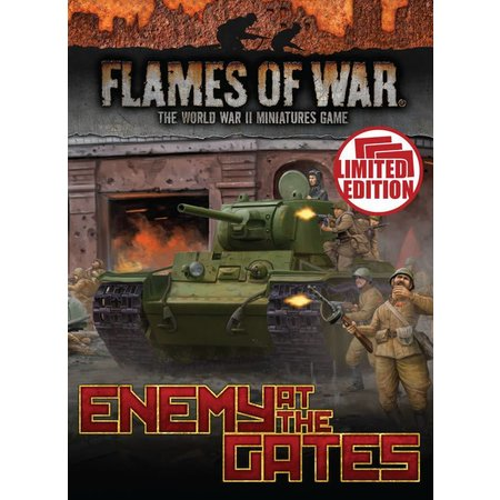 Battlefront Flames of war Enemy at the Gates cards