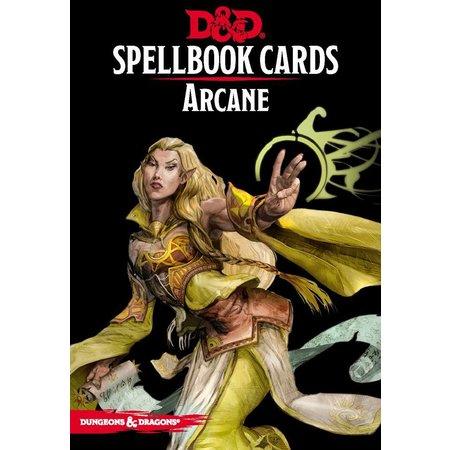 GaleForce Nine D&D 5th Edition Spellbook Cards: Arcane