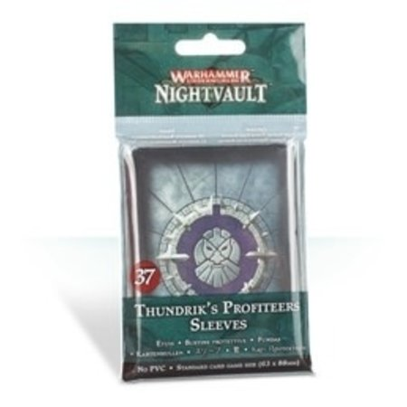 Games Workshop Thundriks Profiteers Sleeves