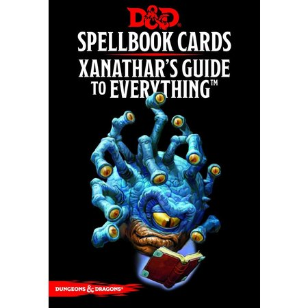 GaleForce Nine D&D 5th Edition Spellbook Cards: Xanathar's Guide to Everything