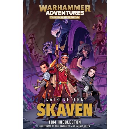 Black Library Warhammer Adventures: Lair of the Skaven