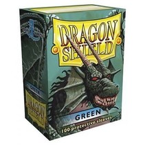 Dragon Shield Sleeves Green 100
