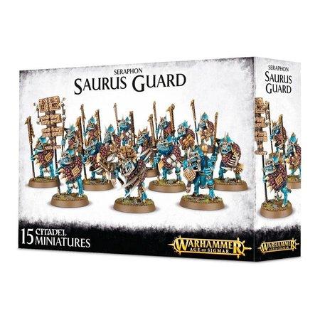 Games Workshop Age of Sigmar Seraphon: Saurus Guard