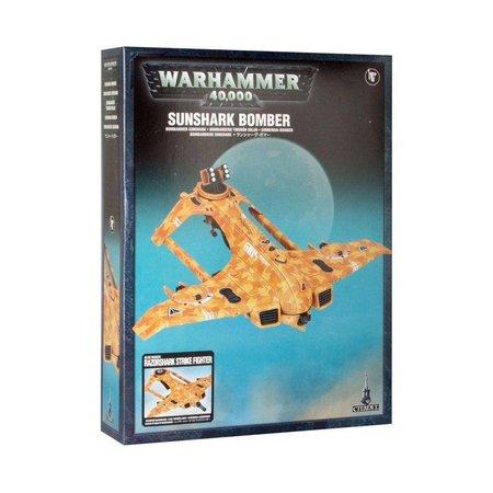 Games Workshop Warhammer 40,000 Xenos T'au Empire: AX3 Razorshark Strike Fighter/AX39 Sunshark Bomber