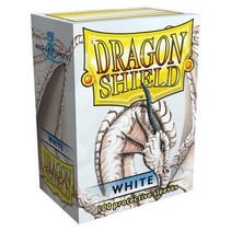 Dragon Shield Sleeves White 100