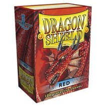 Dragon Shield Sleeves Red 100