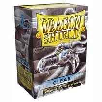 Dragon Shield Sleeves Clear 100