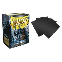 Dragon Shield sleeves black 100