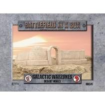 Galactic Warzones Desert Walls
