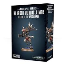 Warhammer 40,000 Chaos Heretic Astartes Chaos Space Marines: Haarken Worldclaimer