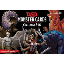 D&D 5th Edition Monster Cards: Challenge 6-16