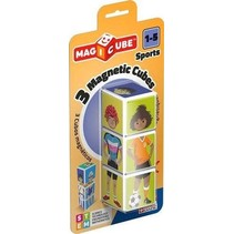 Magicube: 3 Magnetic Cube Sports