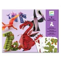 5 Paper Toys: Dragons & Chimeras