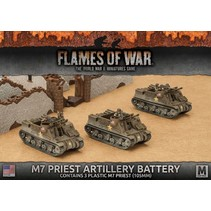 FOW 4.0: M7 Priest Artillery Battery (plastic)