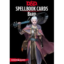 D&D 5th Edition Spellbook Cards: Bard