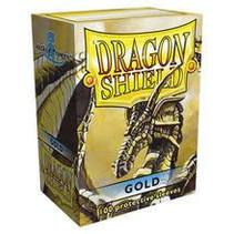 Dragon Shield Sleeves Gold 100