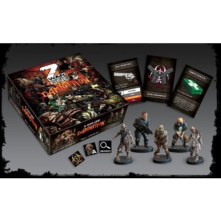 Dice Sports Z War One Damnation:Issue One Resin