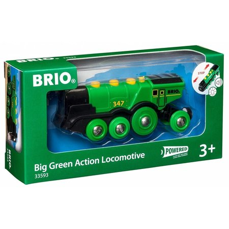 Brio Brio: Big Green Action Locomotive