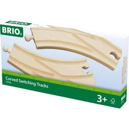 Brio Brio: Gebogen Wissel (2)