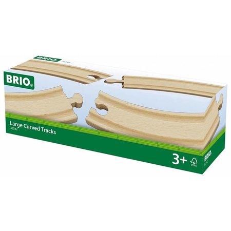 Brio Brio: Gebogen rail (4)