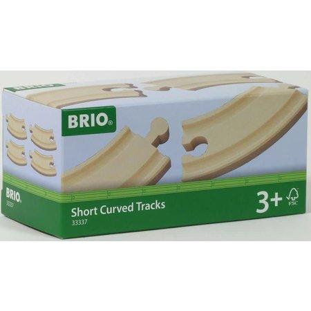 Brio Brio: Korte Gebogen rail (4)