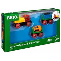Brio Actietrein met B/O Locomotief