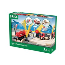 Brio: Rail & Road Travel Set