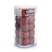 Adeptus Titanicus: Traitor titan legions dice set