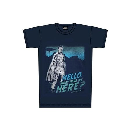 Dobbelsteen (channable) Star Wars T-Shirt What Have We Here Lando Size L