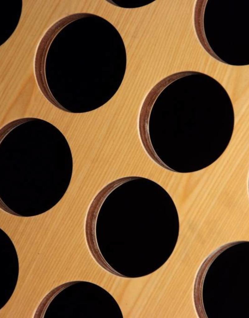 Ubergames Giga 4-op-een-Rij, ECO hardhout, 83x63cm, uniek in kwaliteit