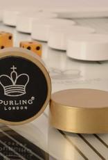 Purling London Dark Backgammon Classic - made in U.K.