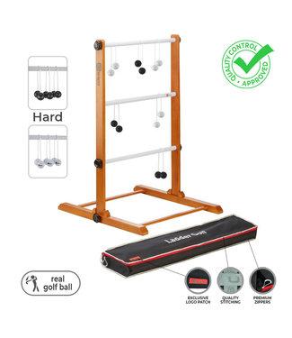 Ubergames Laddergolf spel - Golf ballen - Wit Zwart - Luxe