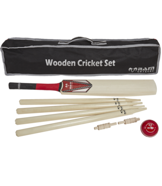 RAM Cricket Cricket set -Senior- compleet met stumps en bal