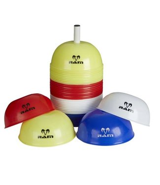 RAM Bolvormige Dome Markeer Hoedjes - Trainingmarkering 40x