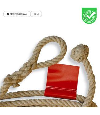 Ubergames Professioneel touw - lus of knoop - 15 meter