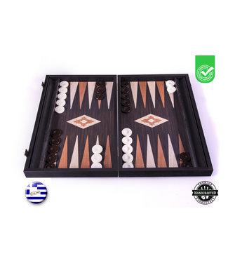 Manopoulos Wenge  Backgammon set - Luxe - 48x30cm -met zijlade