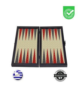 Manopoulos Kashani Backgammon set - Prachtig thematisch - 30x17 cm