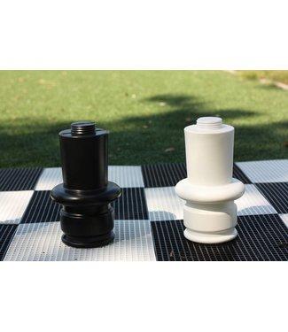 Verhoogdeel voor de losse schaakstukken