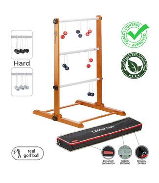 Laddergolf spel - Golf ballen - Rood Blauw - Luxe
