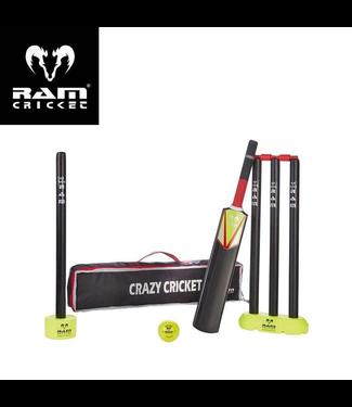 RAM Kunststof Cricket Set - Topmerk RAM Cricket  -  voor Kids tot 8 jaar