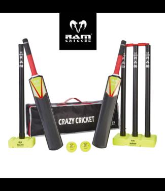 RAM Cricket Kunststof Cricket Set - Topmerk RAM Cricket-  Senior