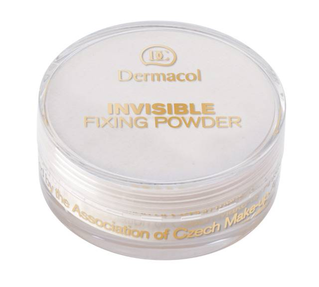 Invisible Fixing Powder - Transparant Fixing Powder - White - 13 gram