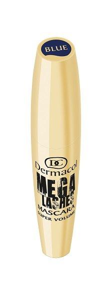 Dermacol Mega Lashes Mascara 12ml - Blauw (GEVOELIGE OGEN/CONTACTLENZEN)