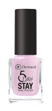 Dermacol 5 Day Stay Longlasting Nail Polish 11ml - W 03 - Secret Wish