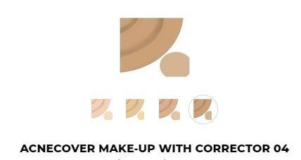 TESTER - 04 - Acnecover Make-Up Met Corrector