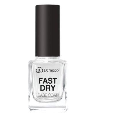Dermacol - Fast Dry Base Coat Nagellak - Blank - 11ML