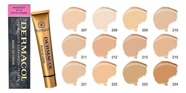 TESTER - 221 - Dermacol camouflage make-up cover Legendary high covering make-up