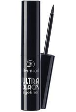 Dermacol Ultra Black Eyeliner 2.8ml - Zwart - geschikt voor gevoelige ogen en gebruikers van contactlenzen