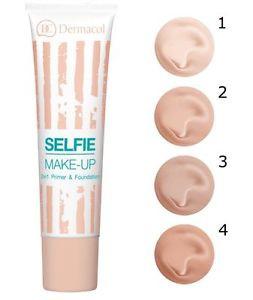 BONUS PAKKET - Dermacol set - Selfie Make-Up nr. 3 & Invisible Fixing Powder Light